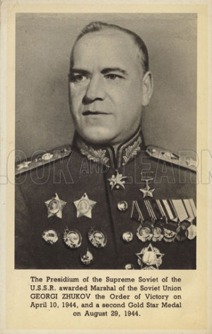 Quotes by Georgy Zhukov