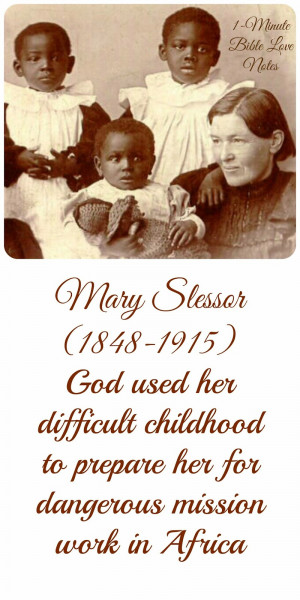 Mary Slessor, missionary to Africa