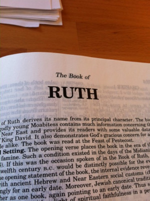 Book Of Ruth Quotes Bible book of ruth