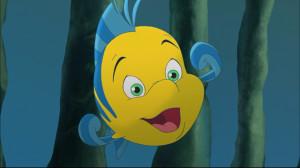 Flounder in The Little Mermaid: Ariel's Beginning .