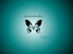 Blue Butterfly Love
