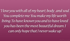 You Complete Me Quotes