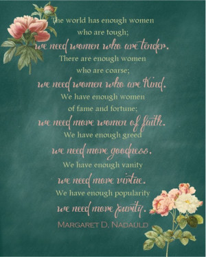 quote on Women from October 2013 LDS Conference (original quote ...
