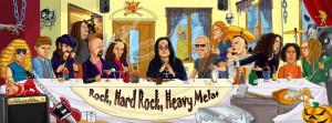 Heavy Metal Birthday Photo