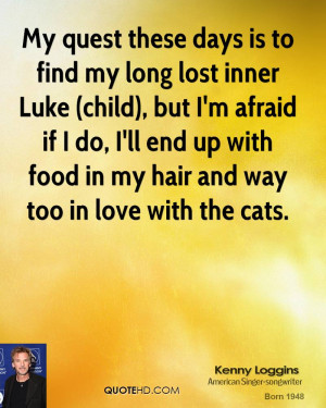 My quest these days is to find my long lost inner Luke (child), but I ...