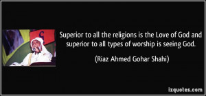 -to-all-the-religions-is-the-love-of-god-and-superior-to-all-types ...