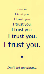 trust you' quote by KeikoMagari