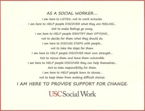USC School of Social Work...was accepted to their program, but SLU was ...