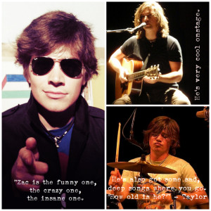 Hanson Zac Taylor Quotes Picture