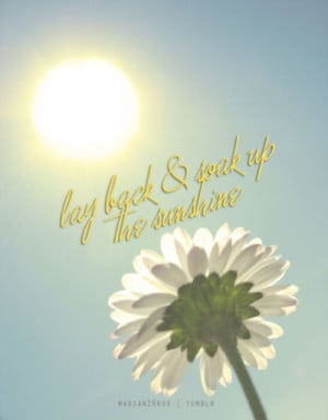 sunshine quotes and sayings