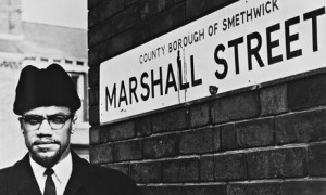 Malcolm X visiting Smethwick in February 1965, just months after the ...