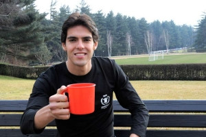 Kaka was one of the stars who helped launch WFP's Fill the Cup ...