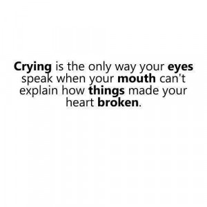 crying nice one miss old times better to push crying