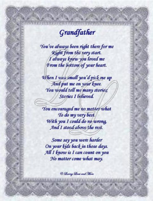 happy birthday grandpa poems