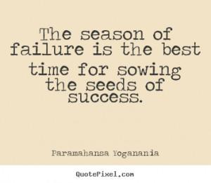quote about success by paramahansa yogananda make custom quote image