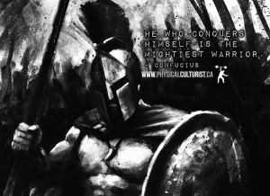he who conquers himself is the mightiest warrior confucious