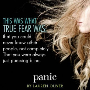 Quote #2 from PANIC by Lauren Oliver
