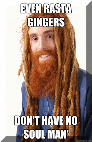 Some funny quotes about gingers: