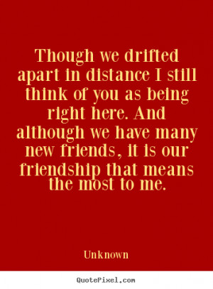 Quotes About Friends Being a Part
