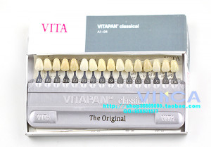 materials vita vitapan teeth guide denture 3d master 16 color shades