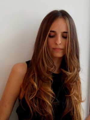 kcomekarolina degradé ombre hair l'oreal long wavy hair beauty ...