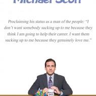 The Office Michael Scott Motivational Quotes