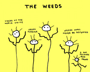 doodle by andre: the world weed uprising