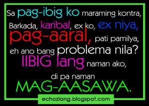 Tagalog Quotes Para Sa Mga Ex Boyfriend ~ Quotes About Love Tagalog ...