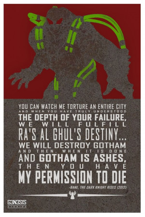 Comic Book Quote Posters by G3N3S1S Studios