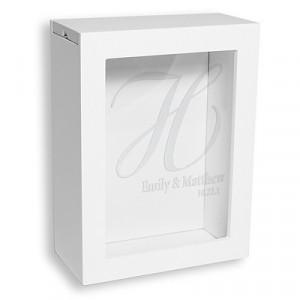 White Unity Sand Shadow Box