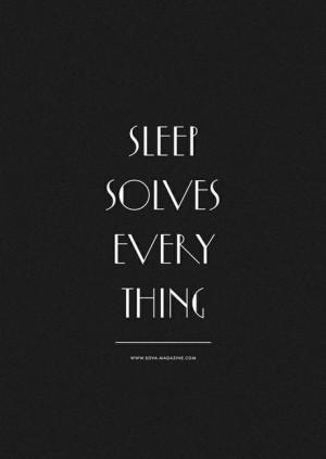 Quotes / sleep