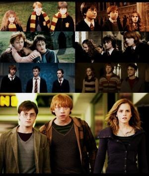 Harry Potter The Golden Trio