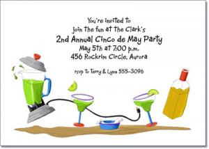 Shop all our Margarita Invitations