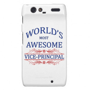 World's Most Awesome Vice-Principal Droid RAZR Cover