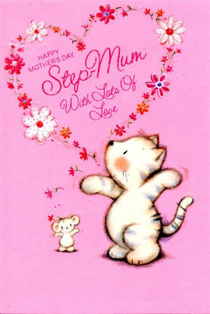 Mother's Day Cards - Step-Mum
