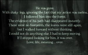 Twilight Series quotes NM