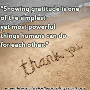 Showing Gratitude is one of the simplest yet most powerful things ...