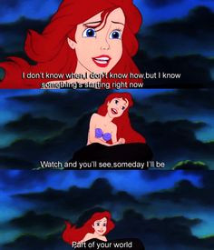 the little mermaid quotes ariel disney the little mermaid inspiring ...