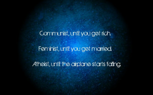 minimalistic dark stars quotes communist typography atheism blue ...