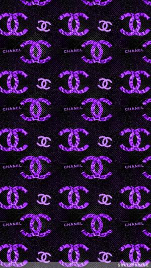 Purple Coco Chanel Quo...