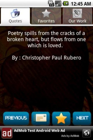 Poetry Spills From The Cracks...