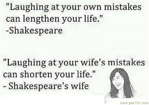 Laughing At Your Own Mistake