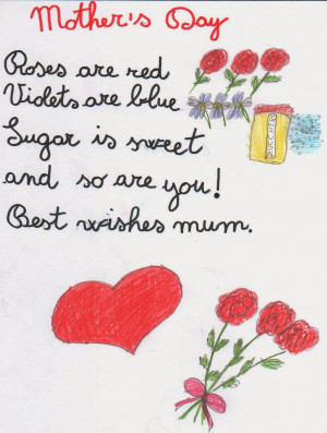 Short Mothers Day Poems 2014