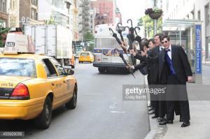 News Photo : 'Gotham' Oswald Cobblepot New York City Takeover...