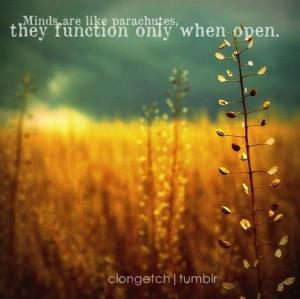 ... quote, life quotes, mind, minds, nature, parachute, parachutes, quote
