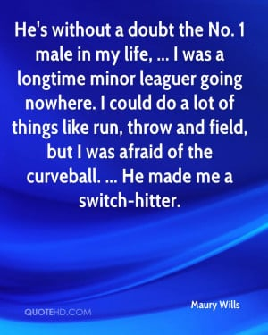 Maury Wills Quotes