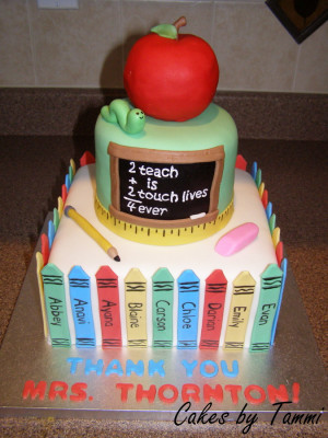 For my daughter's class on the last day of kindergarten. All fondant ...