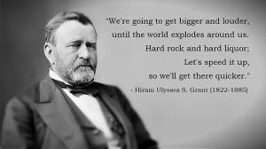 Ulysses S Grant Quotes Hiram ulysses s. grant