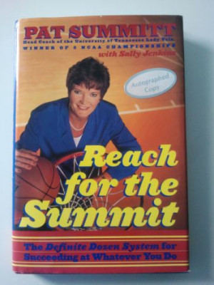 Pat Summitt Inspirational