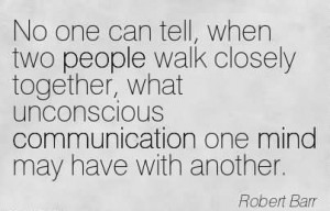 When Two People Walk Closely Together, What Unconscious Communication ...